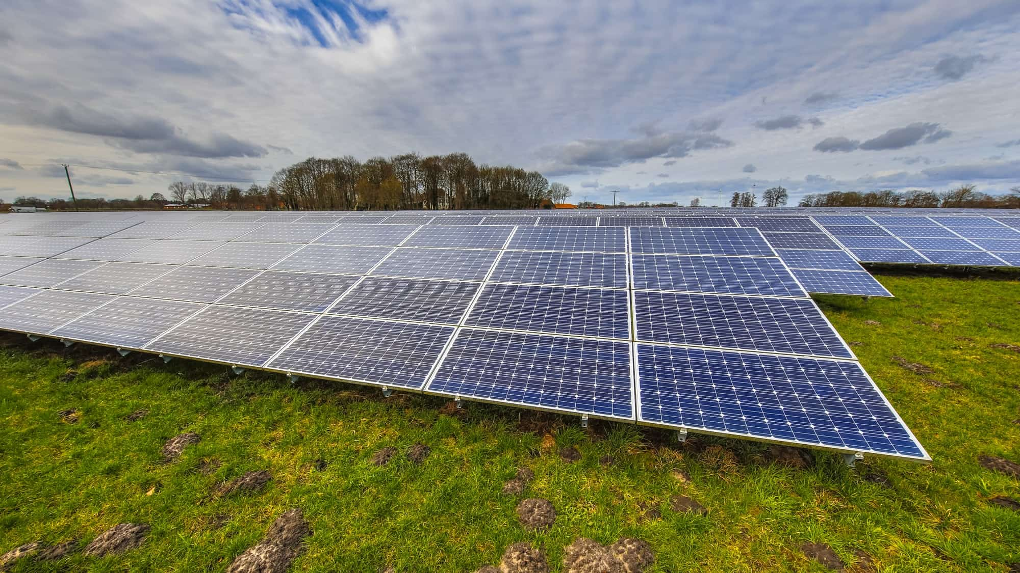 solar panels of a photovoltaic system